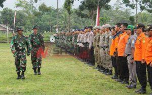 Korem 071 Wijaya Kusuma Gelar Latihan Penanggulangan Bencana Alam