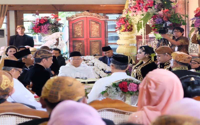 Putrinya Menikah, Ini Harapan Presiden Jokowi
