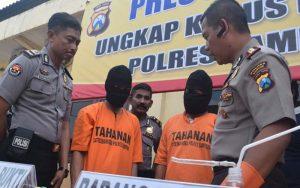 Simpan Narkoba, Dua Pemuda Diamankan Polres Sampang
