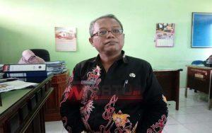 Foto : Kepala Bidang Industrial dan Syarat Kerja Dinas Transmigrasi (Disnakertrans) Kabupaten Sumenep, Kamarul Alam