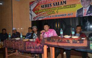 Ini Baru Reses, Politisi Gerindra Beri Bantuan Terop Di Kecamatan Kalianget