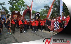 """315 Tim Ikuti Lomba Marathon Panggul Tandu """"Pangsar Jenderal Soedirman"""""""
