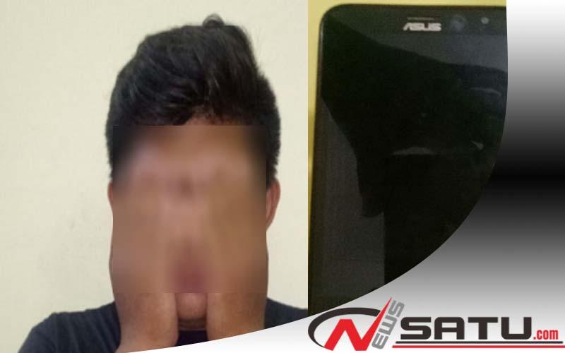 Curi Handphone, Warga Mojokerto Diamankan Polrestabes Surabaya