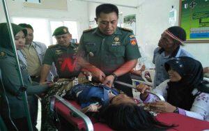 Danrem 071 WK Bantu Pengobatan Bocah 10 Tahun Penderita Polio Di Banyumas