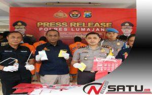 Edarkan Narkoba, 3 Warga Lumajang Diamankan Polisi