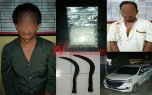 Edarkan Narkoba, Dua Warga Sampang Ditangkap Polres Sumenep