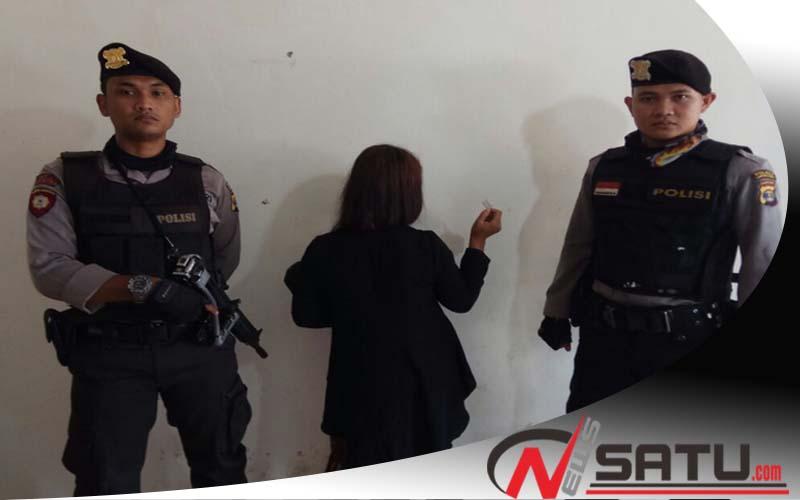 Edarkan Narkoba, Wanita Cantik Di Lampung Timur Diamankan Polisi