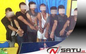 Gelar Pesta Narkoba, 7 Warga Diamankan Polres Aceh Utara