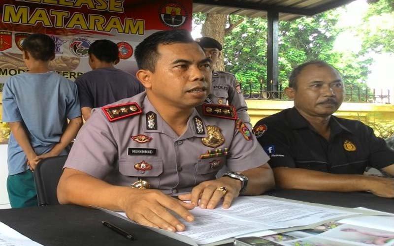 Polres Mataram Amankan Komplotan Jambret