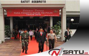 Presiden Jokowi; TNI-Polri Harus Netral Dalam Pilkada