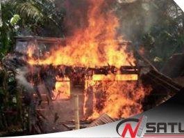 Rumah Warga Di Bolaang Mongondow Ludes Terbakar