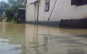 Sungai Kamoning Meluap, Sampang Kembali Terendam Banjir