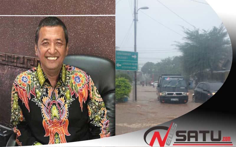 Atasi Banjir, Dinas PU PRKP Dan Cipta Karya Sumenep Anggarkan Rp 7 Miliar (Foto; Bambang Irianto Kadis PUPRKP dan CK Sumenep)