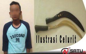 Bawa Celurit, Pemuda Bangkalan Diamankan Polisi