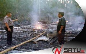 Elpiji Meledak, Empat Rumah Di Bolaang Mongondow Timur Ludes Terbakar