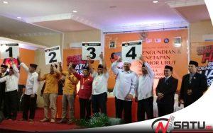 KPU Kota Probolinggo Gelar Pengundian Nomor Urut Paslon Wali Kota