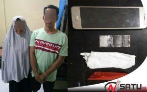 Kompak Edarkan Narkoba, Pasutri Asal Batang-batang Sumenep Diciduk Polisi