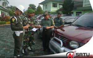 Korem 071 Wijaya Kusuma Cek Kelengkapan Prajurit dan PNS Makorem