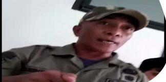 Oknum Satpol PP Bogor Cekik Wartawan Saat Liputan