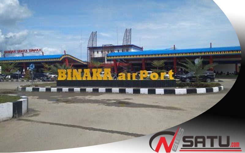Pembangunan Bandara Binaka Siap Tepat Waktu
