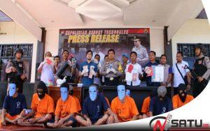 Polres Trenggalek Ungkap Kasus Peredaran Narkoba Dan Perjudian