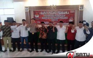 Satu Paslon Tidak Lolos , KPU Kota Probolinggo Umumkan Peserta Pilkada 2018