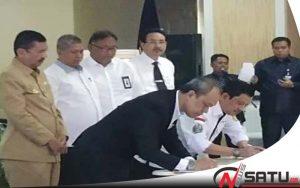 Bupati Kabupaten Nias Utara Hadiri Launching Sumut Smart Province