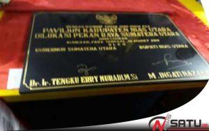 Gubernur Sumatera Utara Meresmikan Paviliun Di Kabupaten Nias Utara