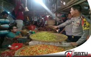 Harga Cabai Meroket, Kapolres Dan DKUPP Kota Probolinggo Gelar Sidak