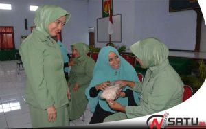 Ketua Persit Banyumas, Pentingnya Peranan Isteri Bagi Parjurit TNI