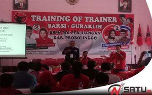 PDI Probolinggo Optimis Gus Ipul-Puti Menang Pada Pilgub Jatim