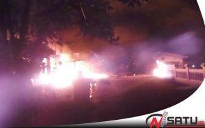Pom Mini Dan Toko Di Masalembu Sumenep Ludes Terbakar
