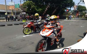 Road Race, Jalan Panglima Sudirman Kota Probolinggo Ditutup