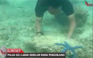 Eksotisme Pulau Gili Labak Sumenep Sebelum Ramai Pengunjung