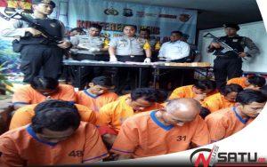 Gunakan Narkoba, Belasan Warga Diamankan Polres Bangkalan