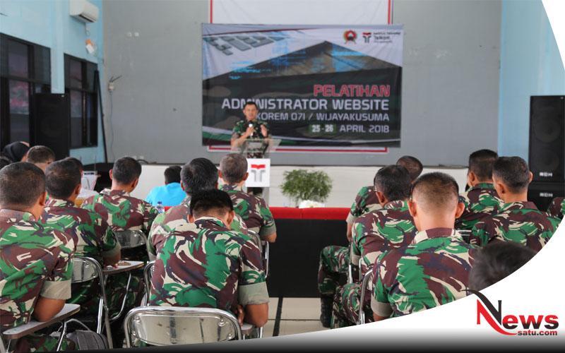 Prajurit TNI Banyumas Jangan Ketinggalan Jaman