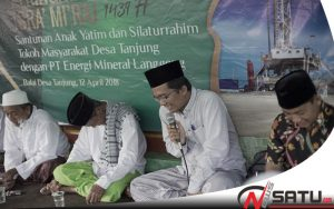 SKK Migas Dan EML Beri Santunan Anak Yatim Di Desa Tanjung Sumenep