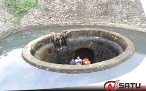 Sypon Ditengah Sungai Kabupaten Probolinggo Terus Dibanjiri Pengunjung