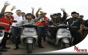 Wisata Kesehatan Sumenep Harus Bebas Polusi (Wabup Fauzi Naik Kendaraan Listrik Pulau Gili Iyang)