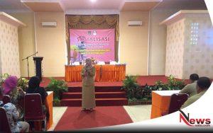 BKKBN Probolinggo; Anak Pelaku Bom Bunuh Diri Surabaya, Harus Diberi Pendampingan Psikologis (Foto Lucia Aries Kabid Perlindungan Perempuan Dan Anak BKBN Probolinggo)