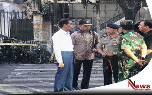 Jokowi Instruksikan Polri Usut Tuntas Pelaku Jaringan Teror Bom Gereja Surabaya