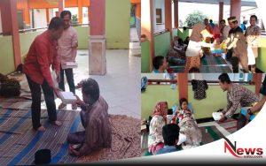 PWI Sumenep Berbagi Takjil Pada Keluarga Pasien RSUD Moh Anwar