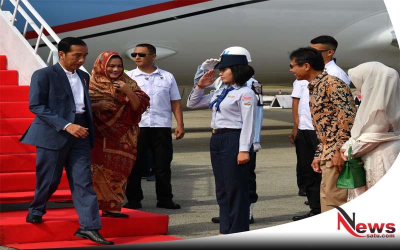 Presiden Jokowi Resmikan KA Minangkabau Ekspres