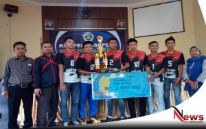 STKIP PGRI Sumenep, Sabet Juara 2 Di Ajang Bola Volly Nasional