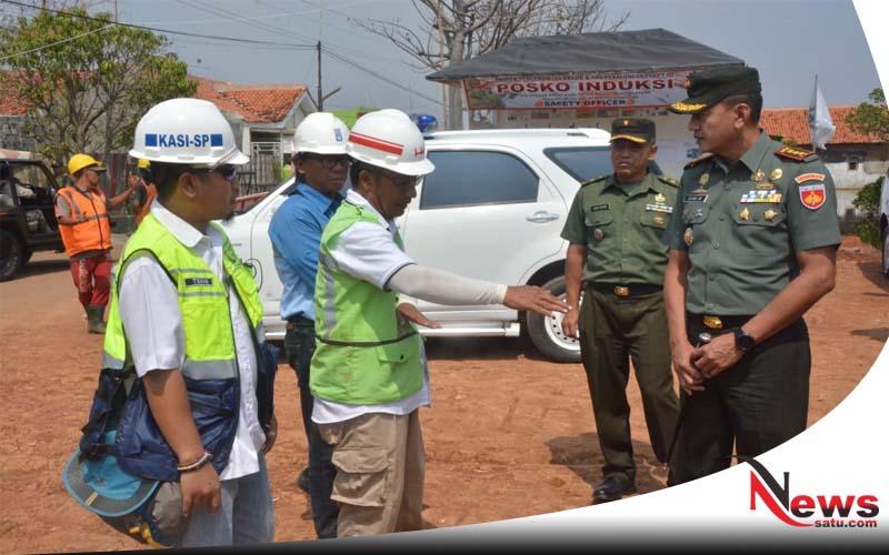 Danrem 071Wijaya Kusuma Cek PembangunanTanggul Penahan Rob Pekalongan