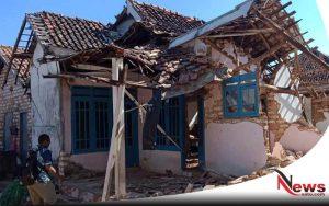 Di Guncang Gempa, Puluhan Bangunan Di Sumenep Rusak