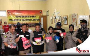 Edarkan 1,2 Kilogram Narkoba, Seorang Pengedar Ditembak Mati Polres Bandar Lampung