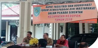 FKDM Probolinggo Ajak Warga Sukseskan Pilkada Serentak
