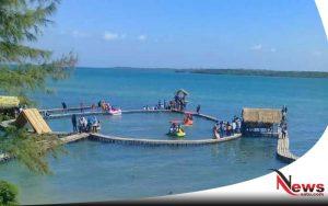 Indahnya Pantai Cinta Sapoong Kangean Sumenep