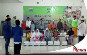 PMII Sumenep Berbagi Takjil Gratis Dan Memberikan Santunan Pada Anak Yatim